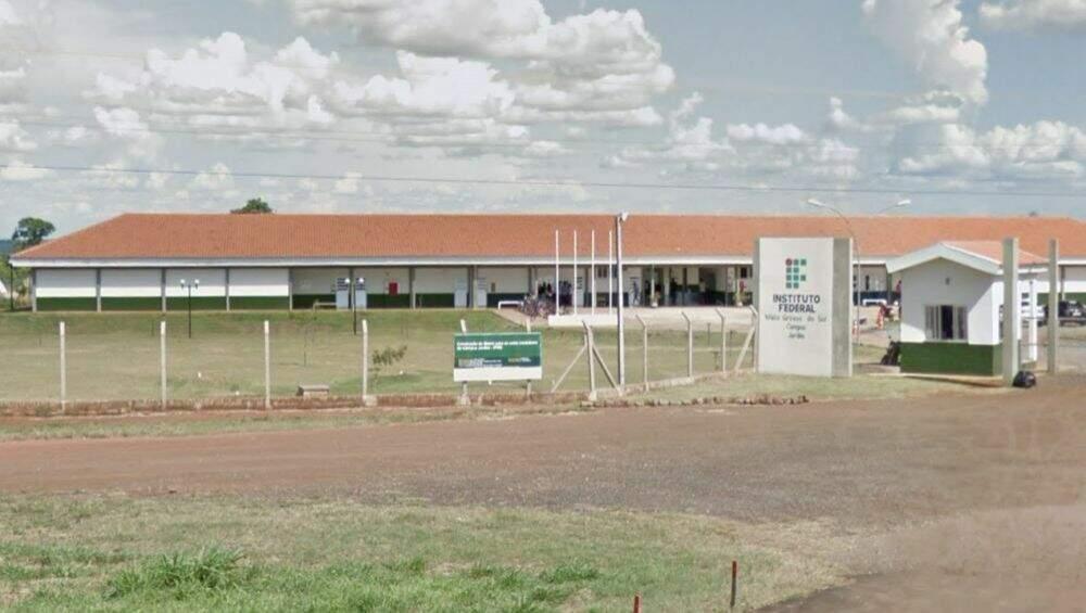 Campus do IFMS em Jardim. (Foto: Bonito Notícias)