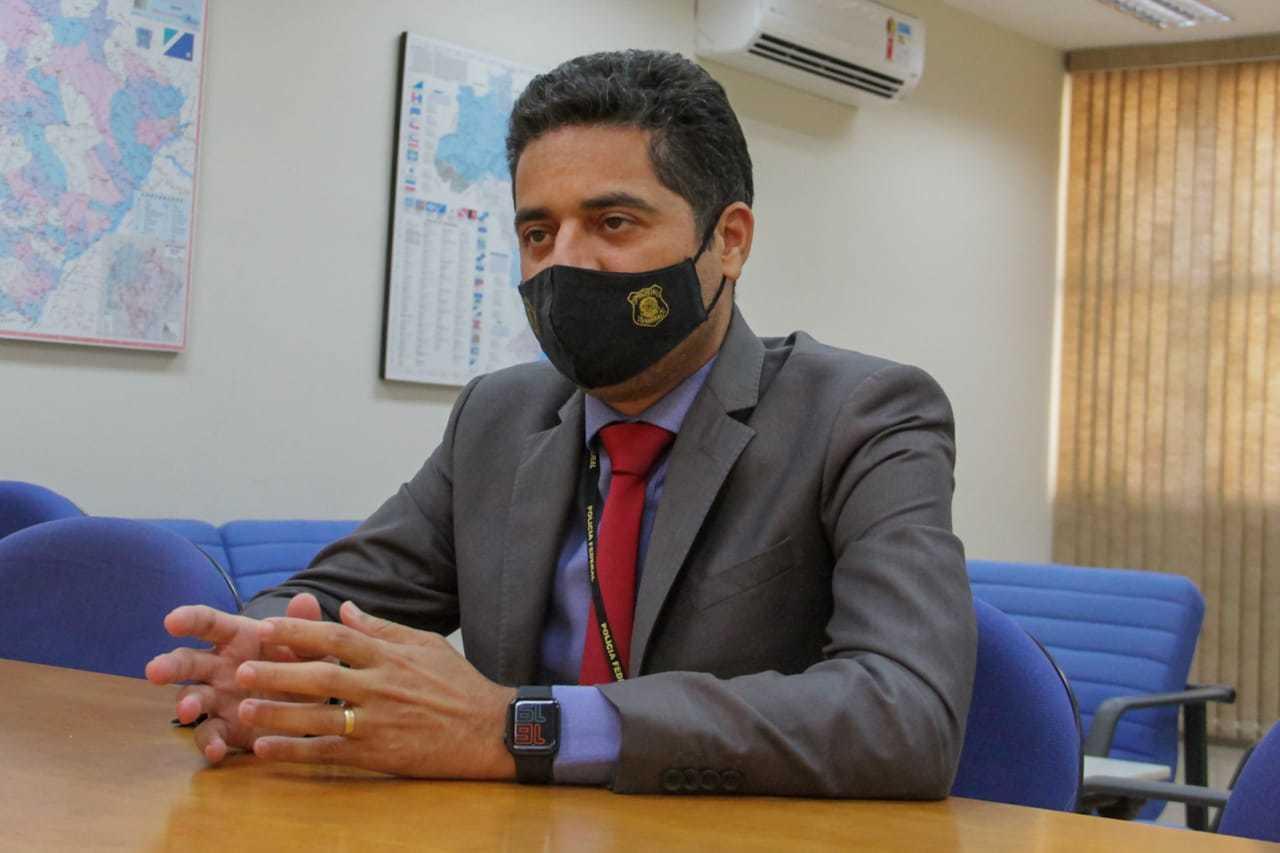 Superintendente da Polícia Federal em MS, Marcelo Botelho (Foto: Silas Lima)