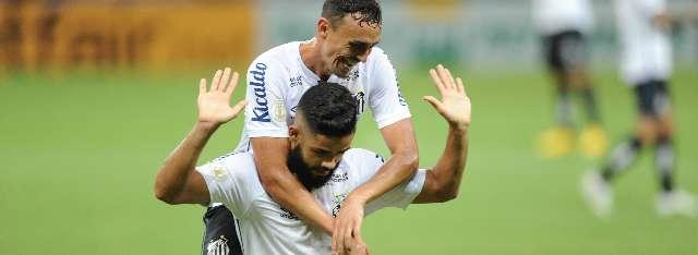 Com gol de Felipe Jonatan, Santos vence o Ceará por 1 a 0 no Castelão