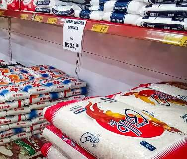 Com preço nas alturas, famílias desembolsam R$ 100 só de arroz na compra do mês
