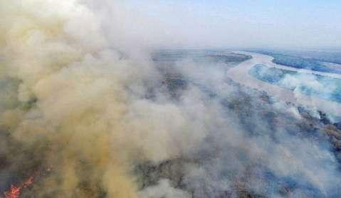 Fumaça da Amazônia e Pantanal começa a chegar a cidades do Sudeste e Sul do País