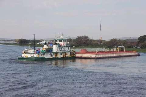 Nível do Rio Paraguai alcança a menor marca em cinco anos e fica negativo