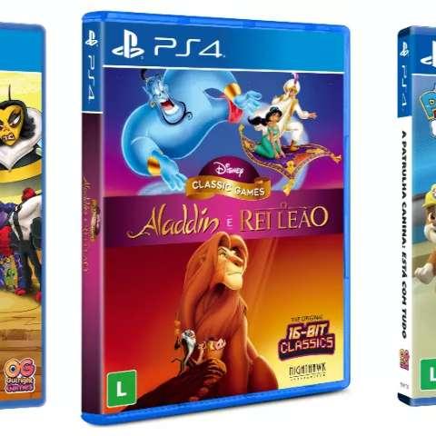 Aladdin, O Rei Leão e Ben 10 chegam para fazer a festa da criançada