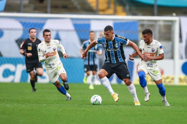 Apesar de jogar em casa, Grêmio fica no empate com o Fortaleza