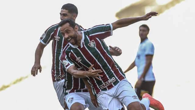 Fluminense vence o Corinthians com dois gols de Nenê no Maracanã