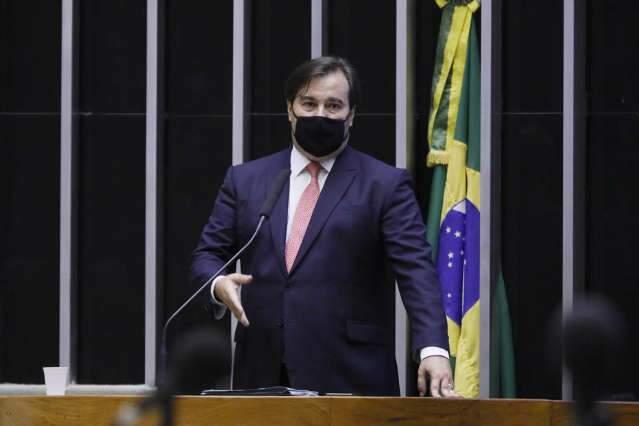 Presidente da Câmara, Rodrigo, Maia testa positivo para covid