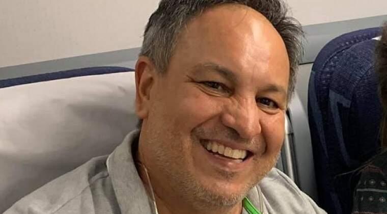 O empresário Cristóbal Rojas, executado na fronteira com MS (Foto: Divulgação)