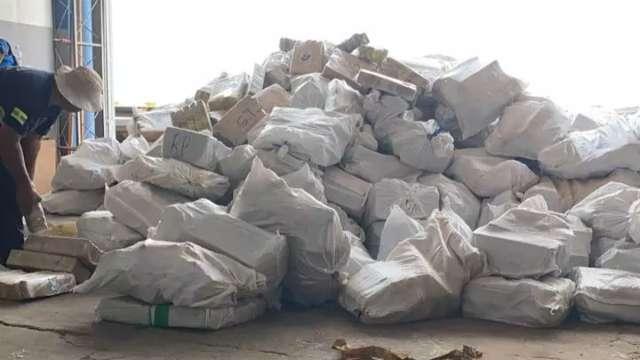 Polícia Federal incinera 32,7 toneladas de maconha apreendidas na fronteira