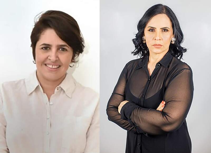 Candidatas Cris Duarte (PSOL) e Sidnéia Tobias (Podemos) são candidatas a prefeita (Foto: Montagem)