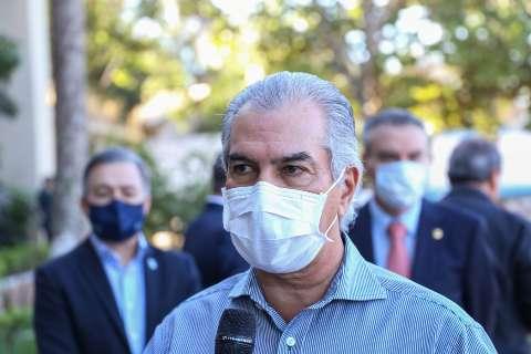 Governador Reinaldo Azambuja está com covid-19 e vai para home office