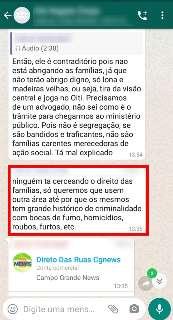 """Moradores de residencial rejeitam chegada de famílias transferidas: """"bandidos"""""""