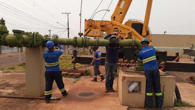 Águas Guariroba faz manutenção e 4 bairros podem ficar sem água