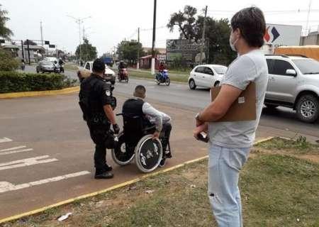 Fronteira fechada causa crise entre agente da PF e militares paraguaios