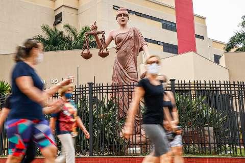 TJMS faz orçamento para devolver venda a olhos da estátua