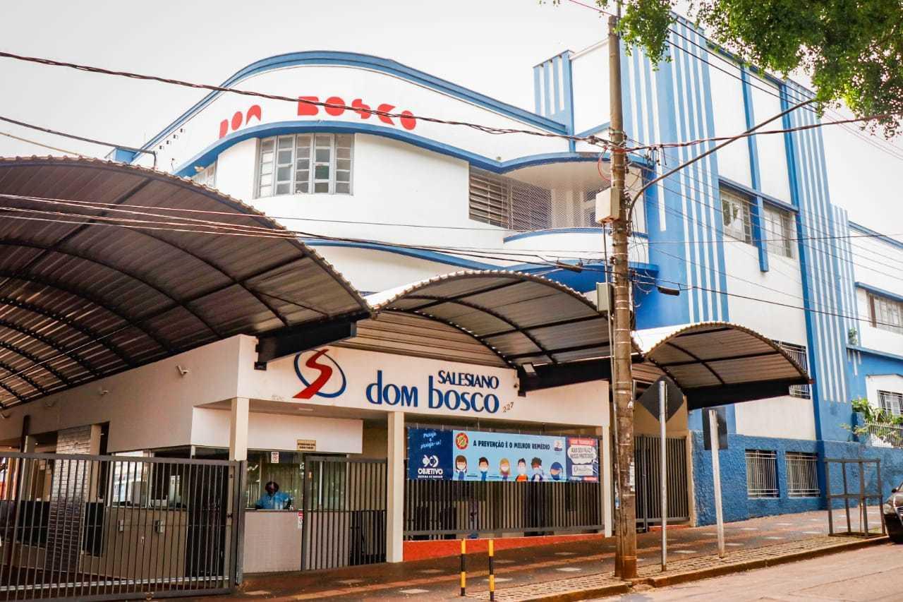 Colégio Dom Bosco é um dos que não volta na segunda e sem pressão, preferiu adiar retorno para outubro. (Foto: Henrique Kawaminami)