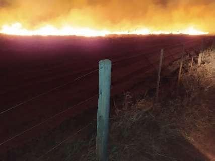 Incêndios em vegetação interditam trecho da BR-158