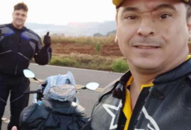 Subtenente dos bombeiros de MS morre após bater moto em veículo em SC