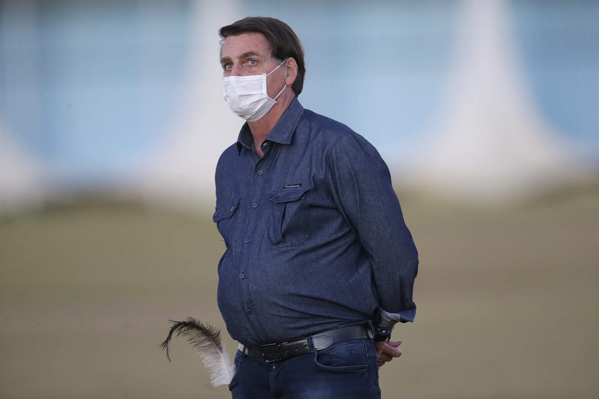 Bolsonaro viajará ao Rio de Janeiro antes de se submeter à sua sexta cirurgia, desde 2018. (Foto: Estadão Conteúdo)