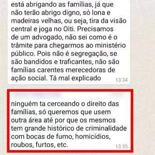 """Vizinhos se mobilizam contra transferência de famílias a residencial: """"bandidos"""""""