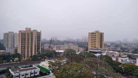 Em MS, 12 cidades já registraram chuva neste fim de semana