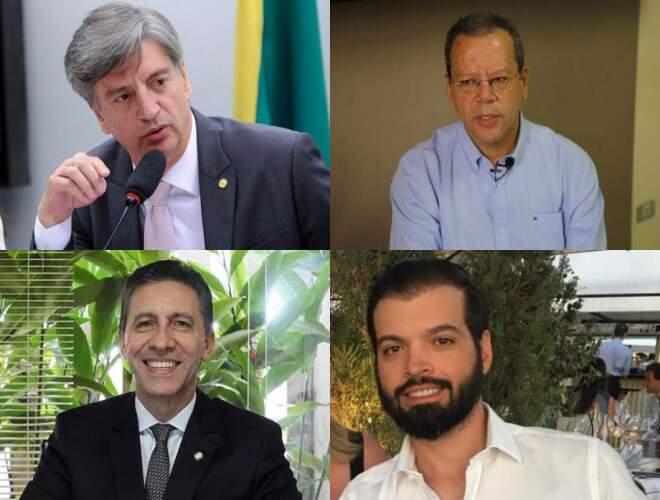 Na foto, da esquerda para a direita e de cima para baixo: Dagoberto, Bluma, Esacheu e Guto (Fotos: Divulgação)