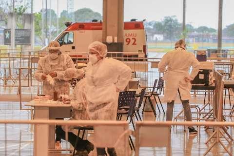 Campo Grande chega a 500 mortos por covid e 35% dos testes ainda dão positivo