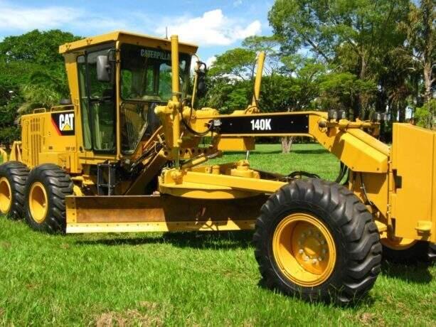 A máquina era levada pela MS-377 quando foi roubada (Foto: Reprodução internet)