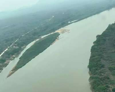 Gigante que corre por 2.695 km, Rio Paraguai tem menor nível em 55 anos