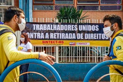 Sindicato sugere a funcionários dos Correios que mantenham greve