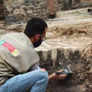 Mais de 200 objetos são encontrados em escavação de antigo hotel