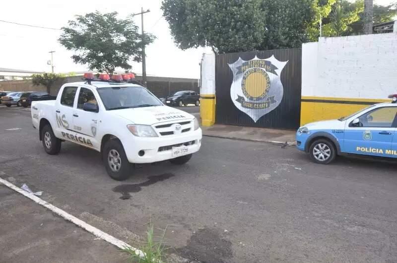 Fachada da Casa do Albergado (Foto: Marcelo Calazans/Arquivo Campo Grande News)