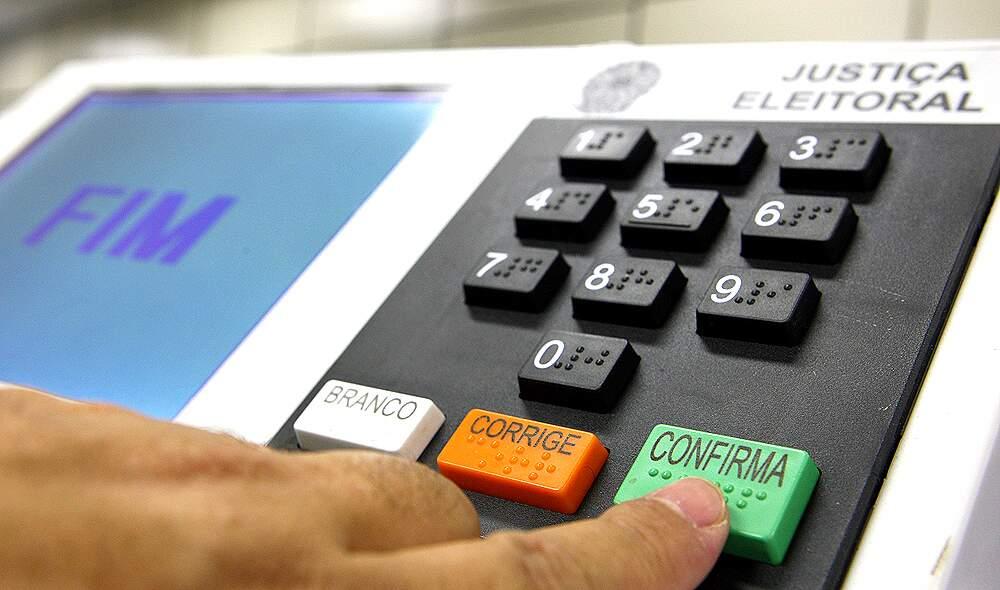 Urna eletrônica de eleições municipais em 2016 (Foto: Arquivo)