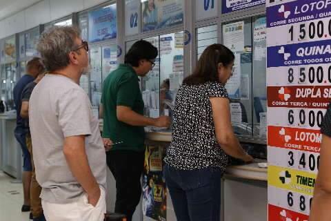Mega-Sena pode pagar até R$ 50 milhões no sorteio deste sábado