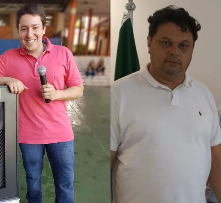 João Henrique Catan e Paulo Matos registram hoje candidatura (Fotos: Reprodução/Facebook)