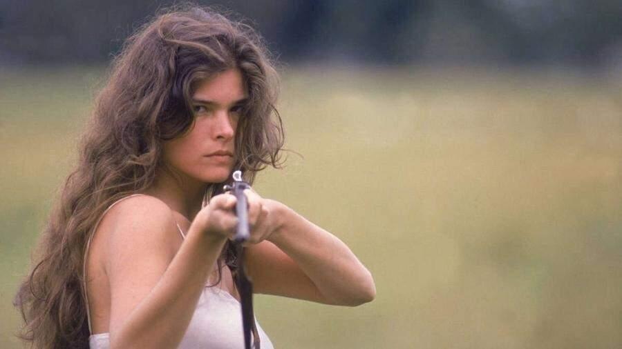 Em seu primeiro grande papel, Cristiana Oliveira tornou Juma Marruá personagem icônica na novela (Foto: Reprodução/Internet)