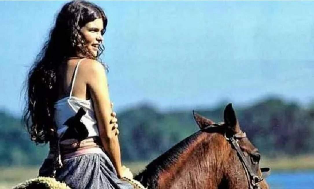 Antes de interpretar Juma, atriz achou que seria a personagem Muda até o último 20° capítulo (Foto: Reprodução/Internet)