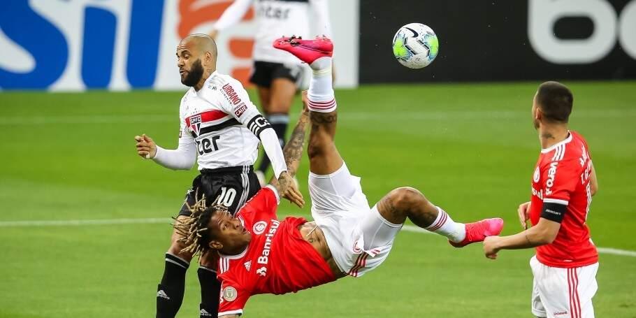 São Paulo fica no empate com o Inter no Beira-Rio (Foto: Pedro H. Tesch/AGIF)