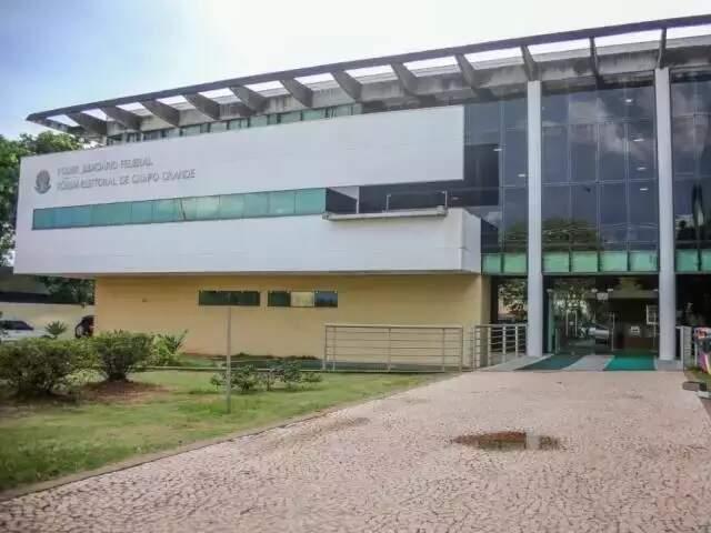 Fórum Eleitoral de Campo Grande, no Parque dos Poderes (Foto: Paulo Francis - Arquivo)