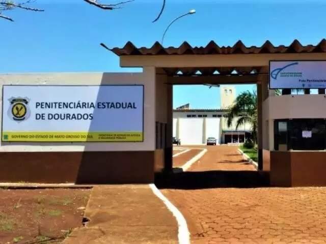 Detento cumpria pena na Penitenciária Estadual de Dourados. (Foto: Dourados News)