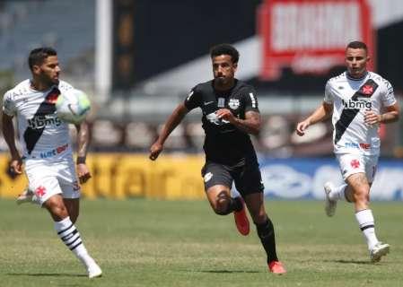 Vasco e Red Bull Bragantino ficam no empate por 1 a 1 em São Januário
