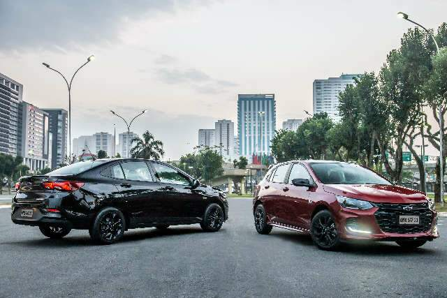 Chevrolet lança Onix RS e Onix Plus Midnight