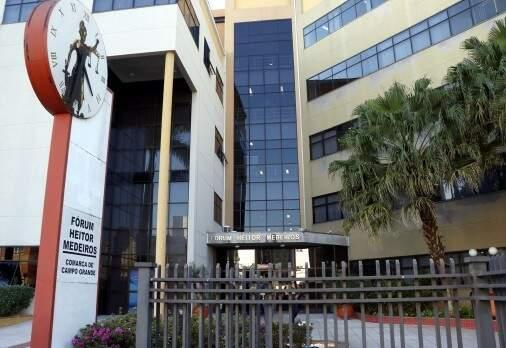 Fórum Heitor Medeiros, na Capital, onde processo correu (Foto: Divulgação)