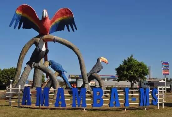 Monumento no município de Amambai. (Foto: Vilson Nascimento/A Gazeta News)