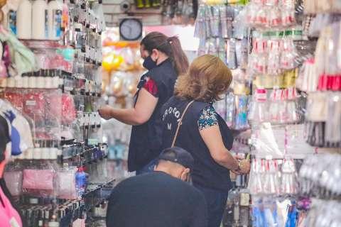 """Ação contra sonegadores autuou 8 lojas e apreendeu """"itens de origem duvidosa"""""""