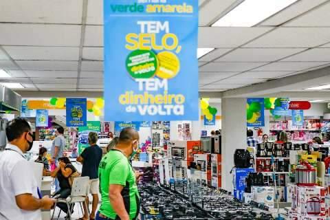 Intenção de consumo na Capital cresce pela primeira vez na pandemia