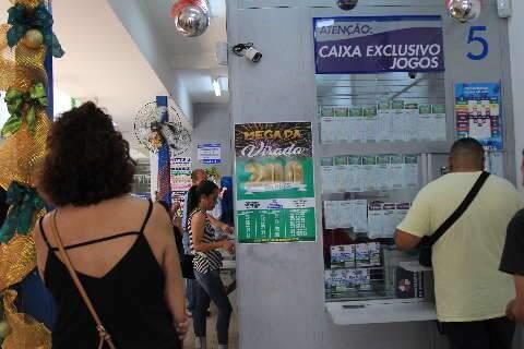 Mega-Sena acumula em R$ 90 milhões, mas apostas de MS faturam a quina e quadra