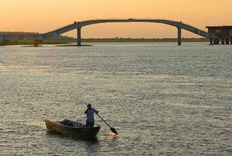 """Rio Paraguai atinge nível """"zero"""" em Ladário, o que pode prejudicar navegação"""
