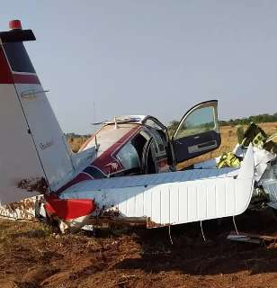 Médico pilotava avião durante queda em fazenda de Camapuã