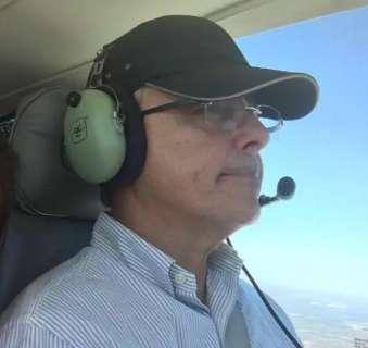 Aos 65 anos, médico de Araçatuba teve apenas hematomas em queda de avião