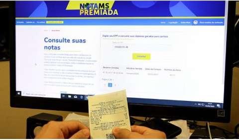 Nota Premiada MS realiza sorteio hoje com R$ 300 mil em premiação